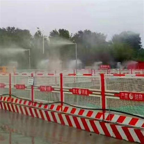 荆州围挡喷淋设备厂房喷淋雾化降温效果明显