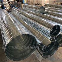 佛山专业除尘风管厂家螺旋通风管道安装工程