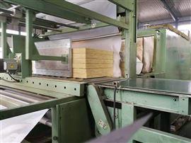竖丝插丝岩棉复合板