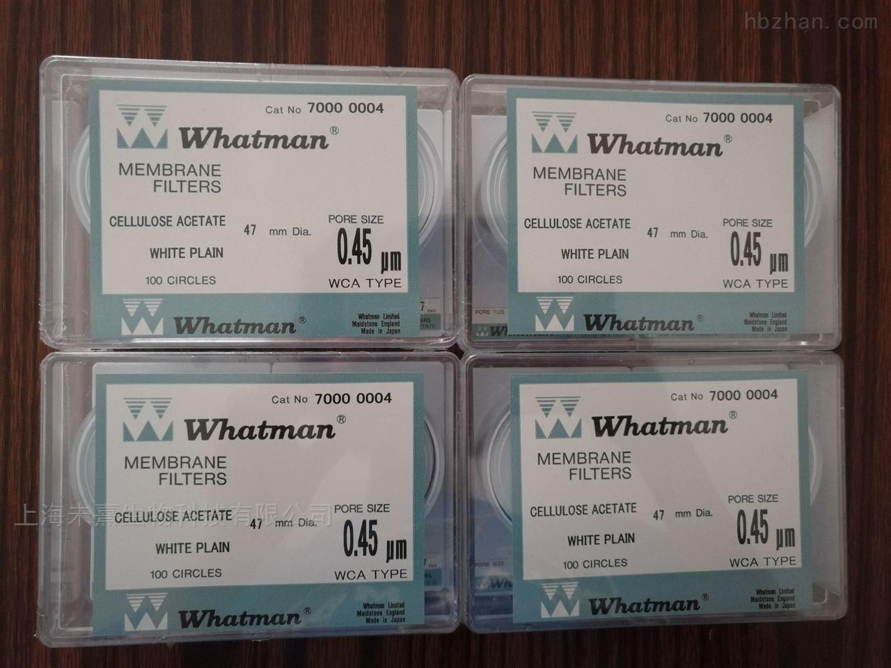 沃特曼whatman醋酸纤维素滤膜0.45um孔径
