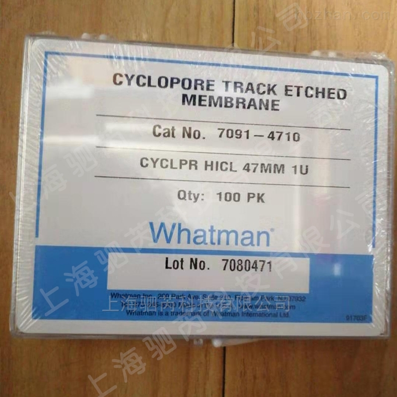 whatman CYCLOPORE TRACK ETCHED聚碳酸酯膜