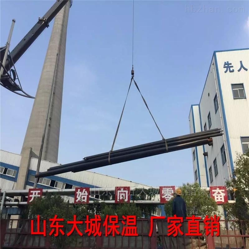 钢套钢蒸汽保温管山东青岛供货规格