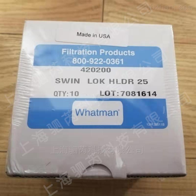 WHATMAN 25mm换膜过滤器