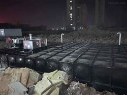 地埋式箱泵一体化消防增压工作原理