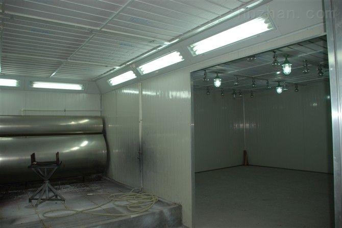 唐山喷烤漆房-结构原理