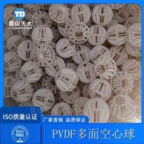 耐高温PVDF聚偏氟乙烯材质多面空心球