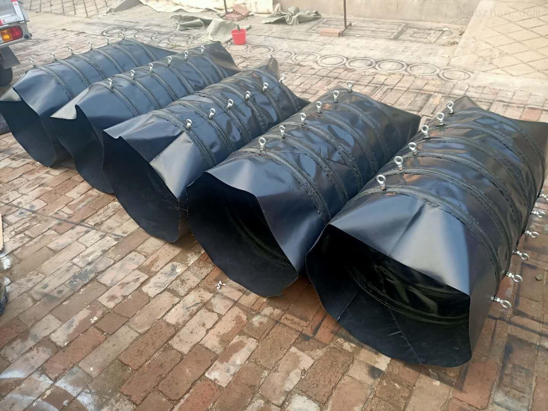 环保伸缩水泥耐高温帆布布袋