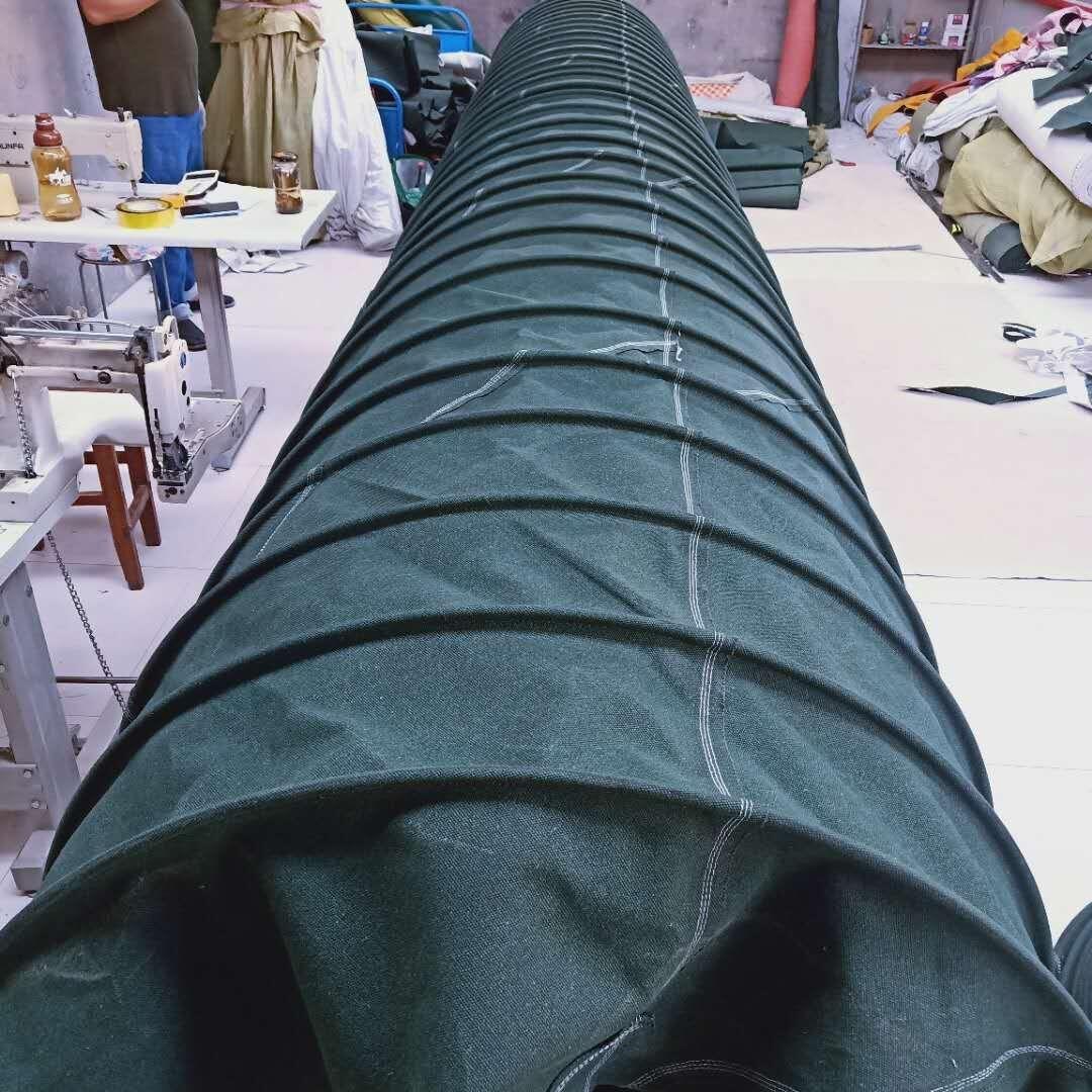 环保散装水泥耐高温帆布布袋