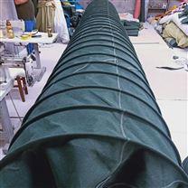 帆布粉碎机除尘伸缩布袋