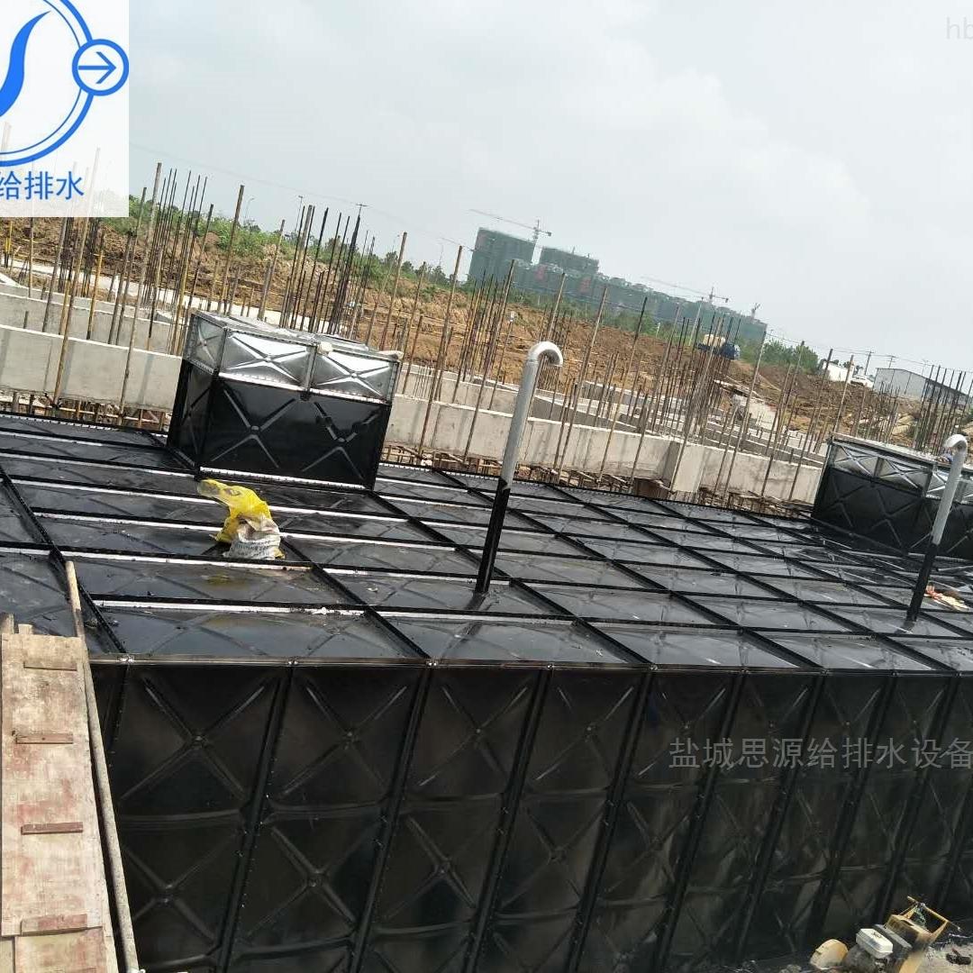 HDXBF智能型箱泵一体化泵站设备安装顺序