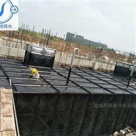 江西南昌450m3地埋式箱泵消防增压给水设备