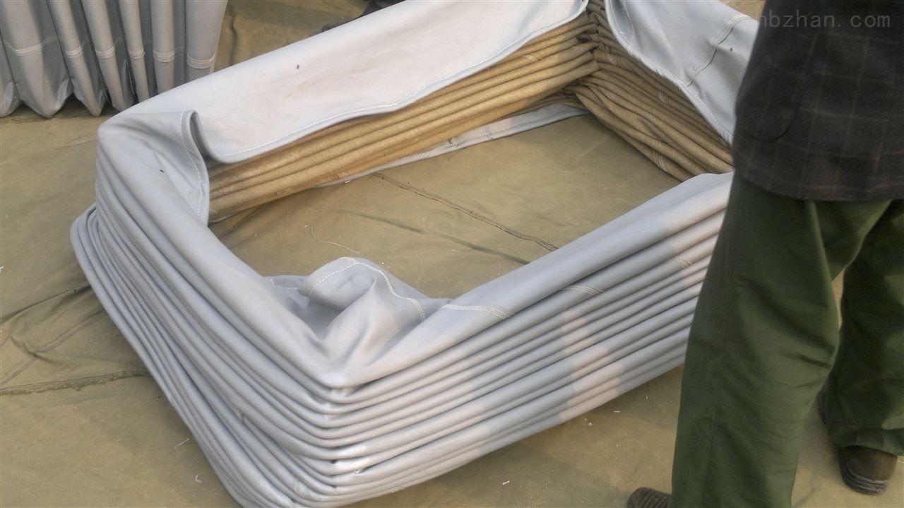 白色纯棉帆布耐高温软连接