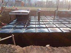地埋式箱泵一体化和混凝土消防水池区别