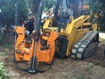 五瓣挖树机 带土球移树断根机