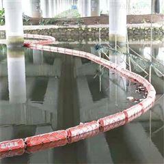 隔离浮筒河道隔离垃圾设备 聚乙烯材质浮体