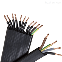 H03VVH6-F柔性行车扁平电缆 H05VVH6-F 欧标认证
