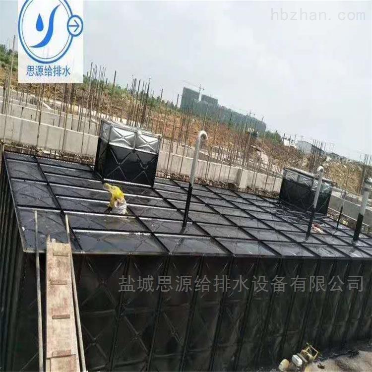 地埋式箱泵一体化消防水箱的优势: