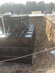 一体化消防增压水池泵站