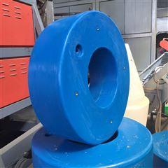 塑料浮圈圆形滚塑塑料浮圈 直径700mm
