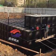 箱泵一体化与混凝土水池区别