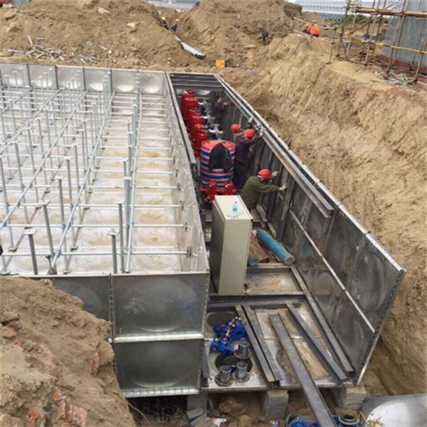 喀什哈密地埋箱泵一体化消防泵站厂家