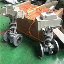 电动高温蒸汽球阀