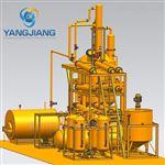 YJ-DSL热裂解油船舶燃油炼制蒸馏设备