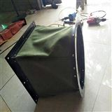 定制法蘭式帆布防腐蝕通風軟連接