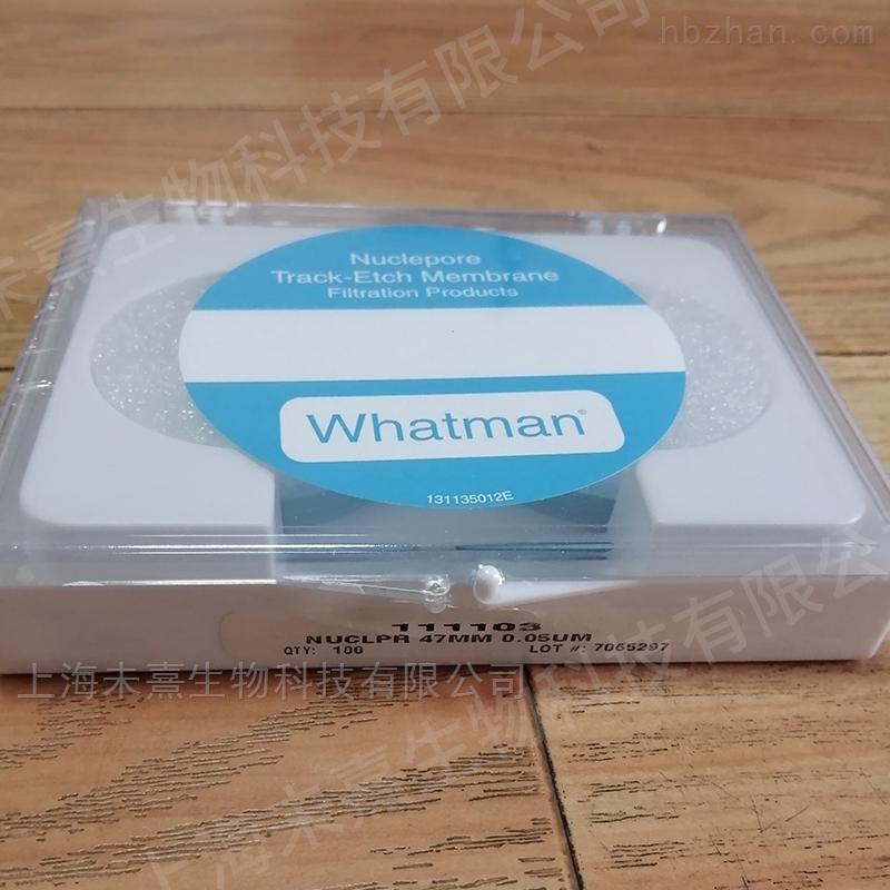 GE Whatman聚碳酸酯膜孔径50纳米PC膜