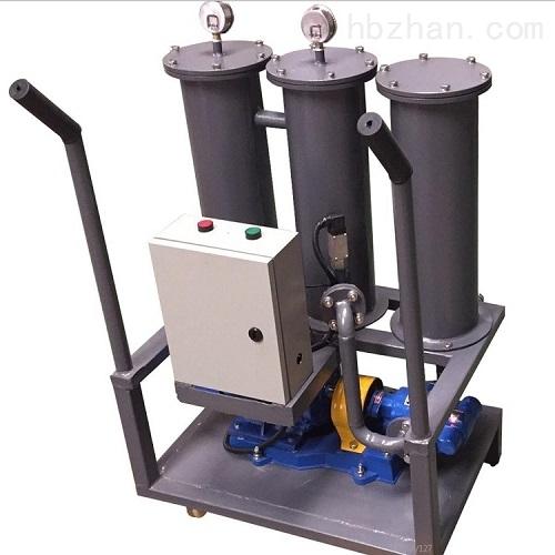精细手推高粘度加热型滤油机