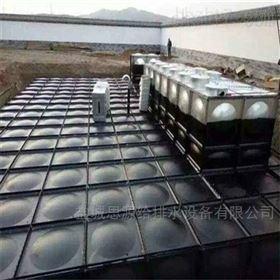 地埋式箱泵一体化基础浇筑