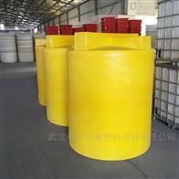 湘潭5000LPE加药箱塑料搅拌桶配搅拌机价格