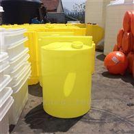 怀化2000L加厚溶液罐塑料溶药桶带搅拌机