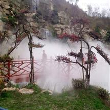 济南园林景观造雾工程-公园假山人造雾系统