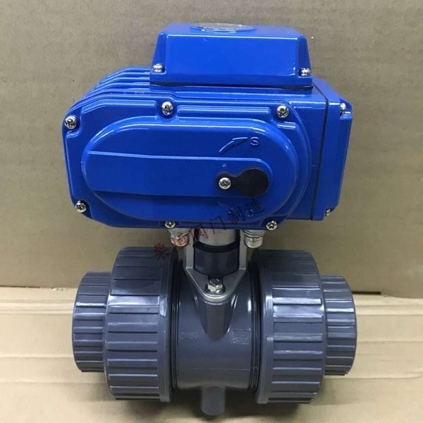 电动球阀Q911F-10UPVC塑料