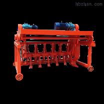 有机肥直径5米液压槽式翻堆机翻堆深度1.3米