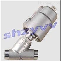 J665F焊接式气动角座阀