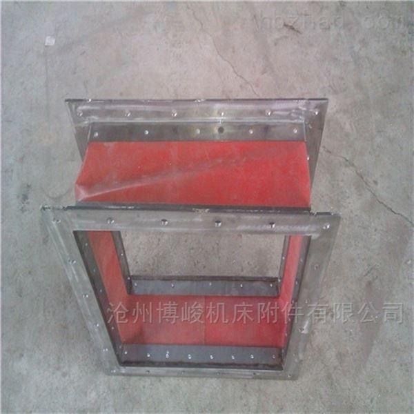方形耐高温阻燃硅胶软连接
