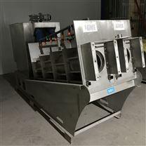 生活污水处理厂提标用叠螺预浓缩脱水机
