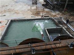 山东砂石料场泥浆脱水工厂