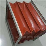 定制红色硅胶布防火软连接厂家