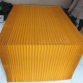 风琴式机床防护罩装置