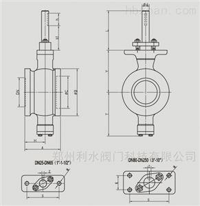 VQ977电动防爆V型球阀