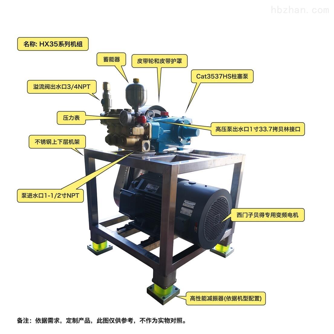 美国CAT高压柱塞泵