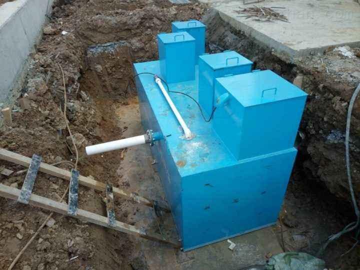 一体化地埋式生活污水处理设备