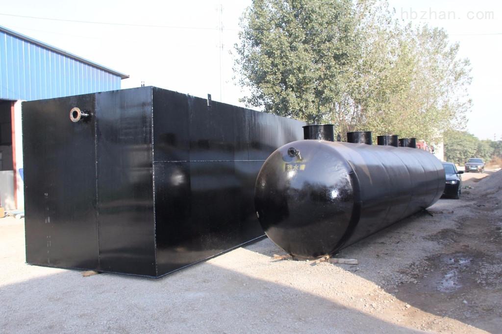 建阳一体化地埋式污水处理设备