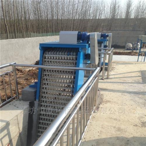 济宁市回转式耙式格栅机的安装