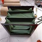 纯绿色吊环式帆布软连接生产报价