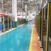 青岛车间隔离网  机器人护栏