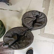 砂石料输送机卸料防尘耐磨橡胶布袋定制